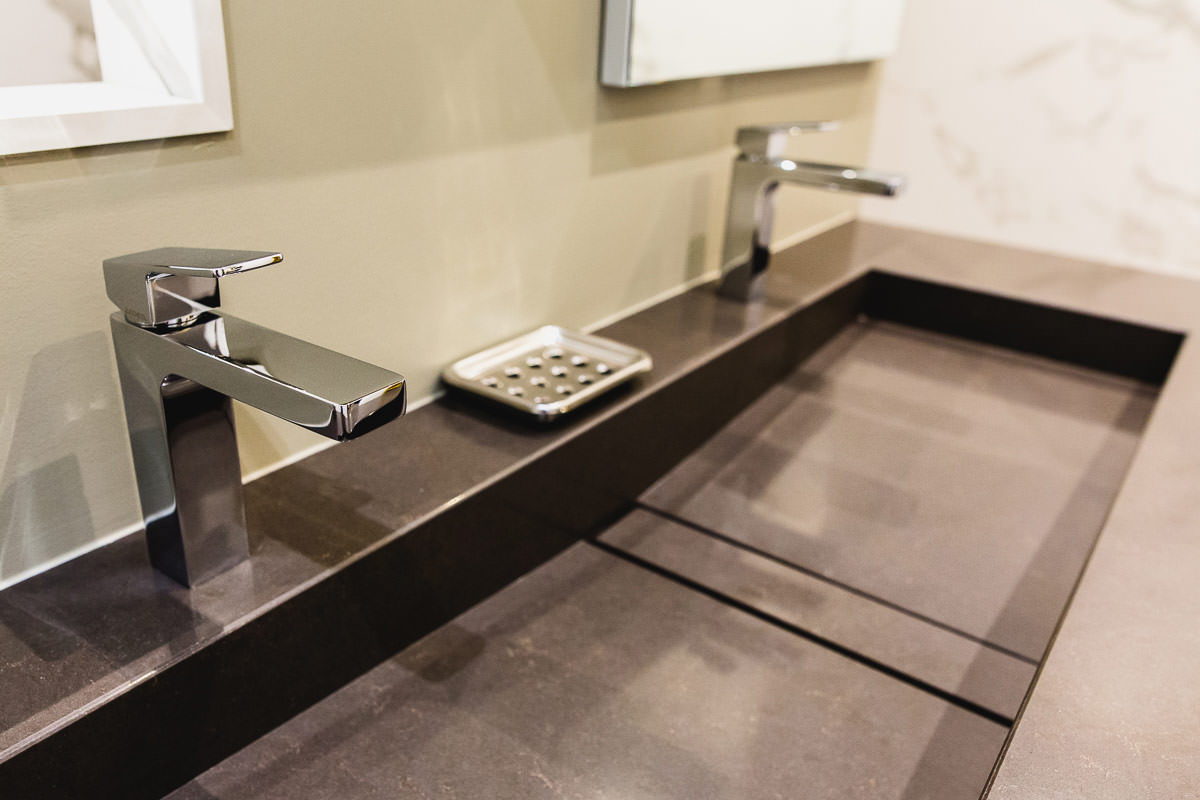 Saamo - Salle de bain Silestone Edone